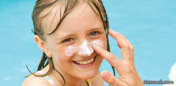 ضد آفتاب کودکان