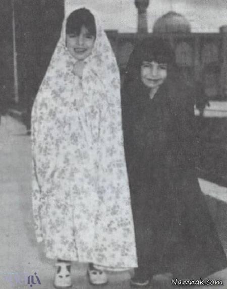کودکی لیلی رشیدی و لیلا حاتمی