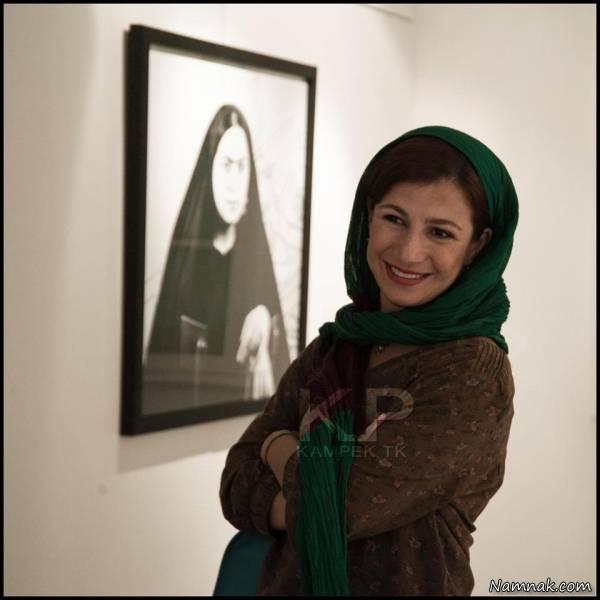 لیلی رشیدی در نمایشگاه عکس
