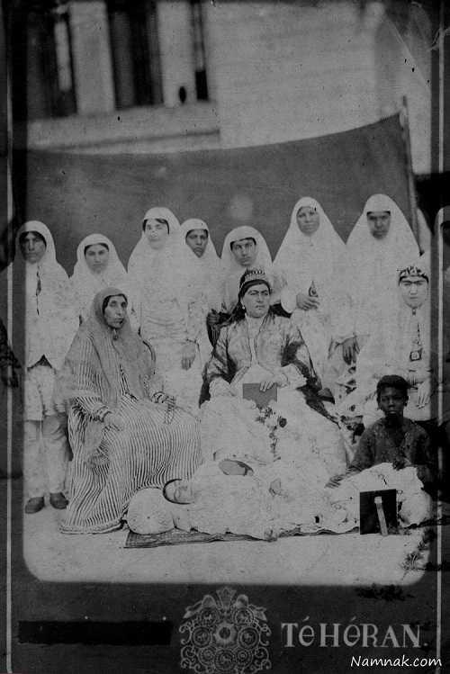 زنان ناصرالدین شاه