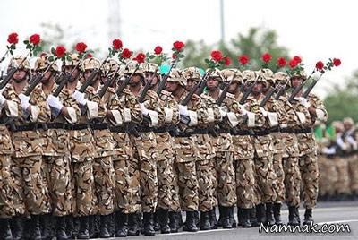 عکس روز ارتش جمهوری اسلامی ایران