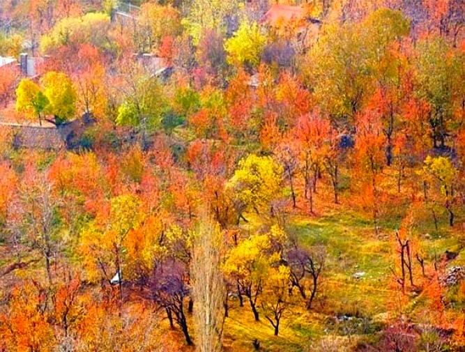 بهترین مقصد و زیباترین جا برای سفر پاییزی در ایران