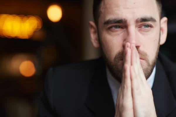 علت گریه مردان