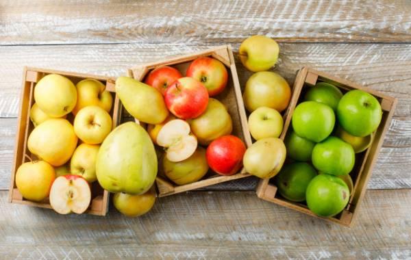 سیب و گلابی