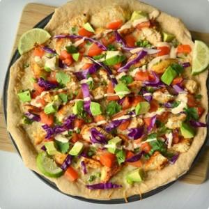 پیتزا مرغ و کلم