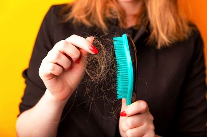 ریزش مو در حمام