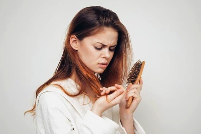علت ریزش موی شدید