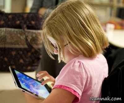 تربیت بچه هایمان را به تبلت نسپاریم