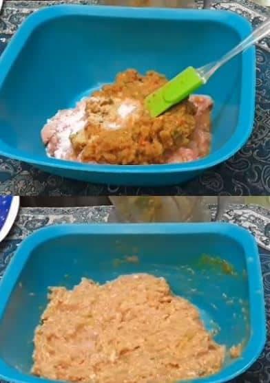 مواد اولیه کباب مرغ تابه ای