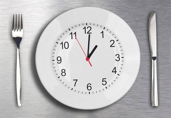ساعت مناسب غذاخوردن