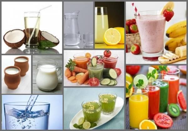 مصرف مایعات