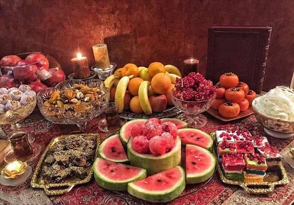 رسوم شب یلدا