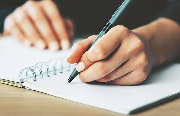 نوشتن روی کاغذ