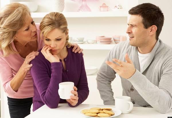 راه آشتی با خانواده همسر بعد قطع رابطه