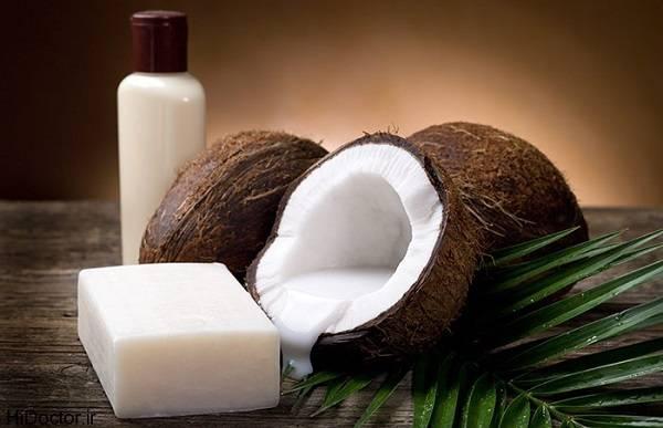 صابون بدن با شیر نارگیل