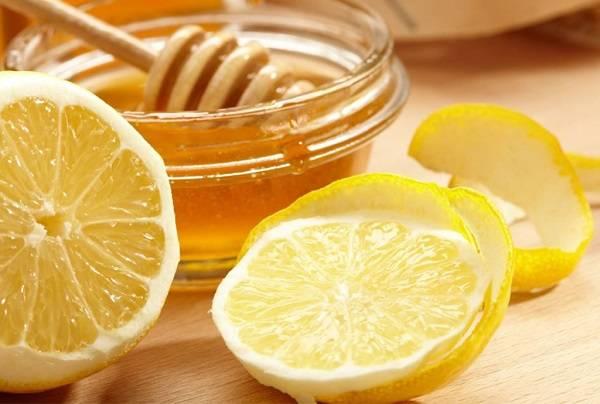 پوست لیمو و عسل