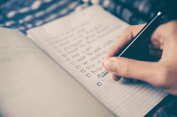 لیست کار روزانه