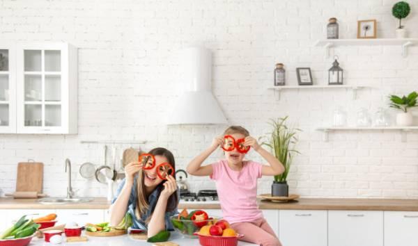 آشپزی با فرزند