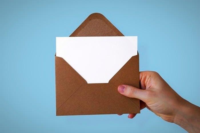 بستن در نامه