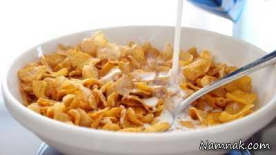صبحانه ناسالم