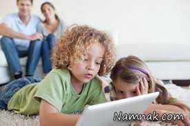 مضرات استفاده از تبلت در کودکان