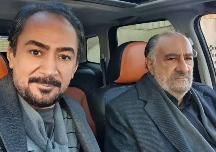داریوش ازجمند و محمد حاتمی