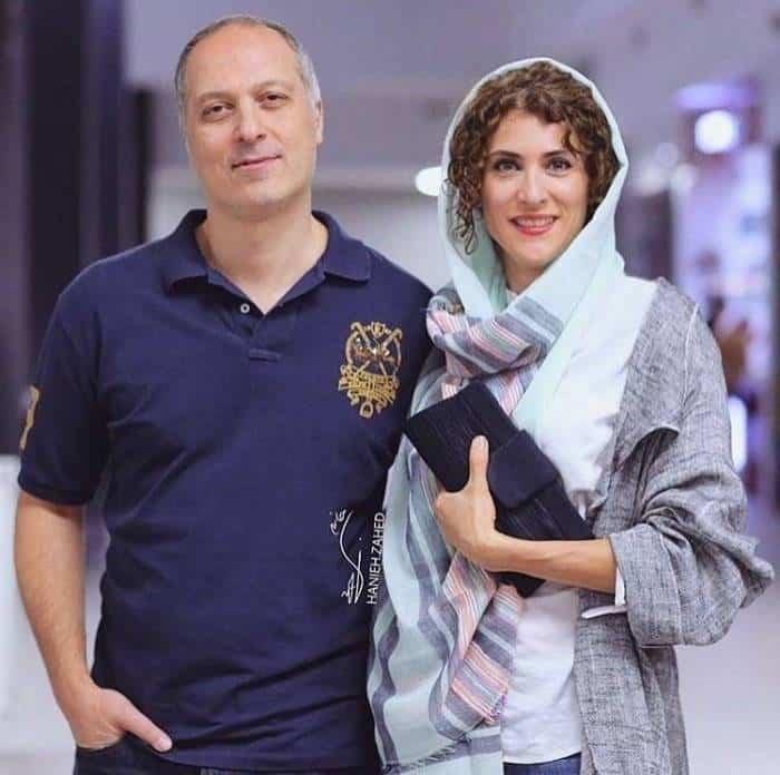 ویشکا آسایش و همسرش
