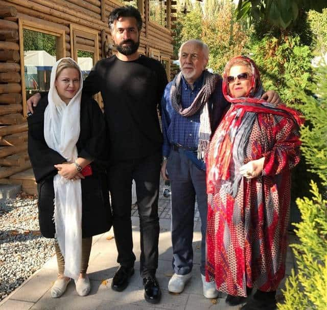 عکس خانوادگی بهاره رهنما