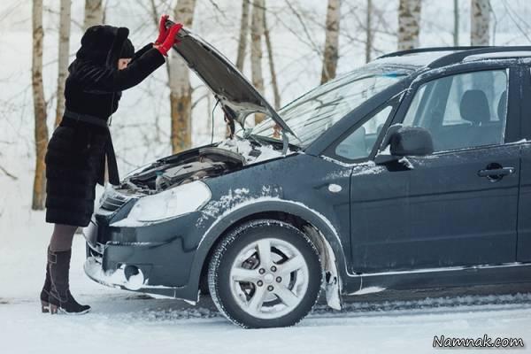 روش صحیح رانندگی - باتری خودرو