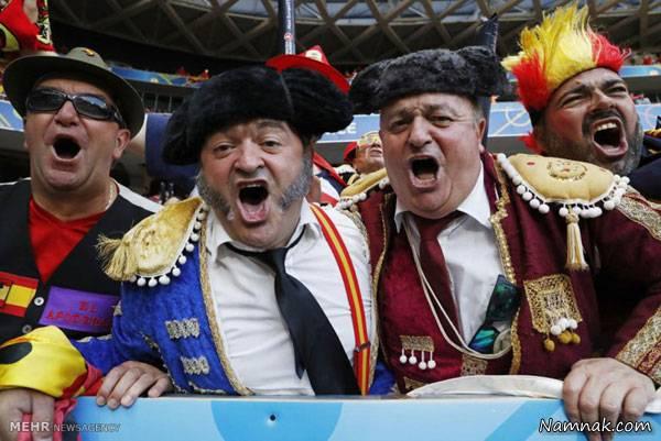 تماشاگران یورو