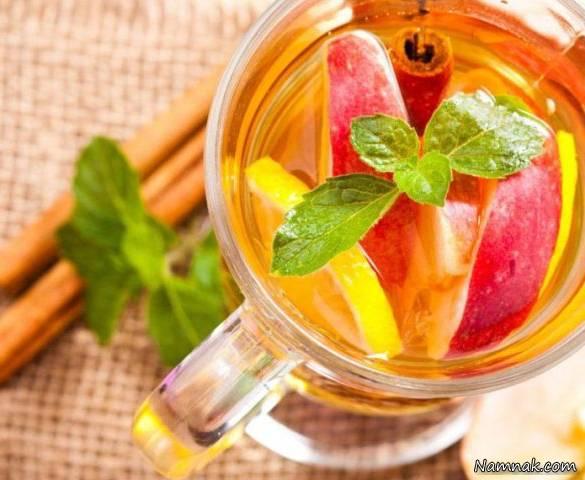 خواص چای سیب