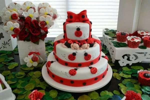 کیک های زیبای کفشدوزکی