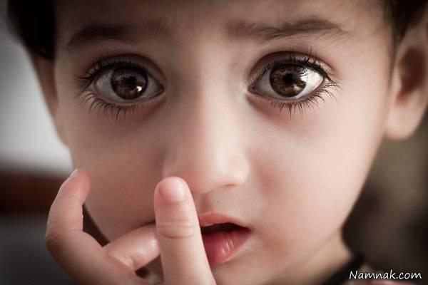 جنین چشم رنگی