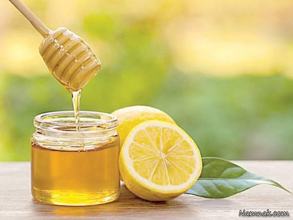لیمو ترش و عسل