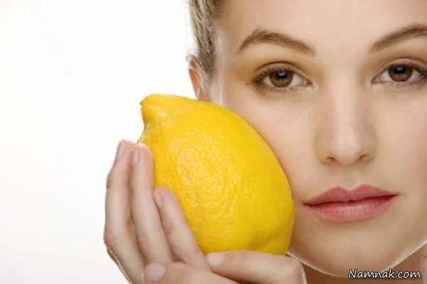 سفید شدن پوست با لیمو
