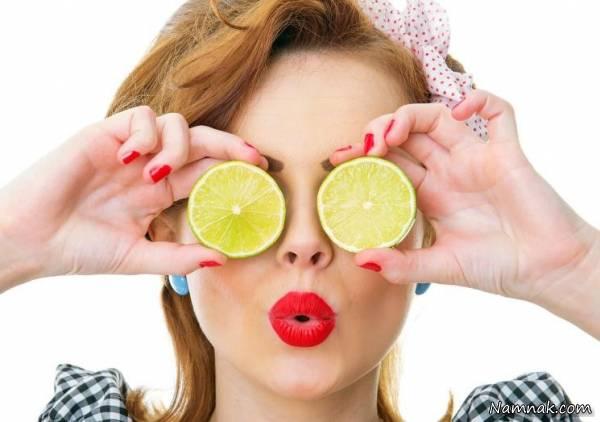درمان آفتاب سوختگی با لیمو ترش