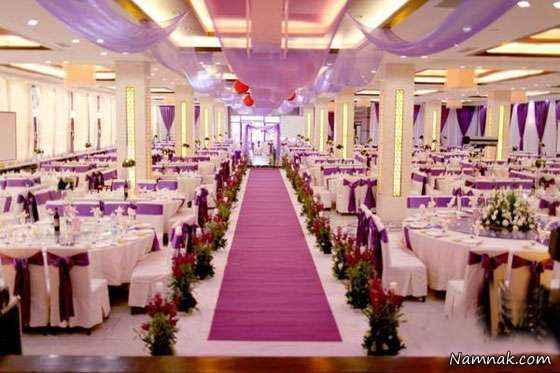 عروسی های مجلل در تهران