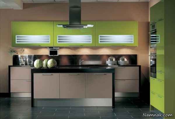 new latest kitchen designs مدل کابینت آشپزخانه 2015 متفاوت و زیبا 3517