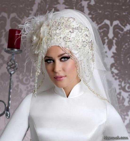 تور عروس محجبه 2016
