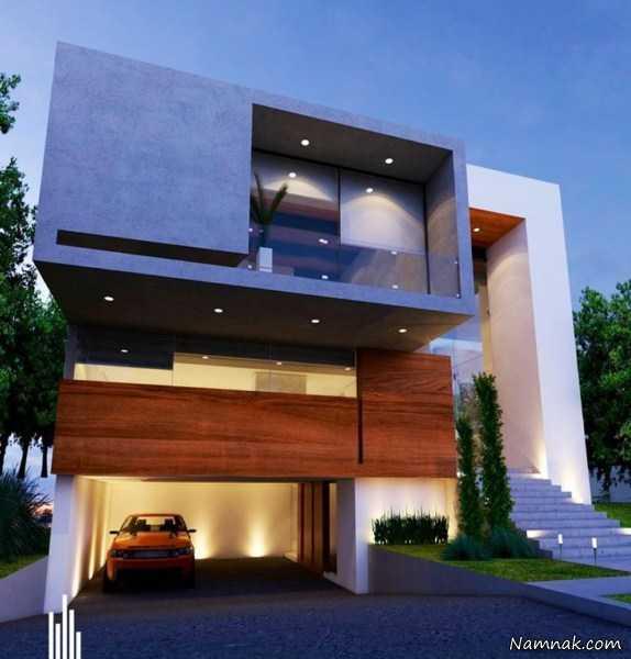 مدل نمای ساختمان