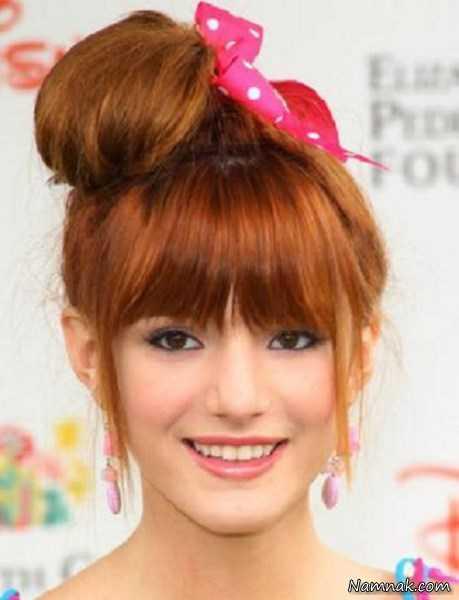 جدیدترین مدل مو چتری دخترانه