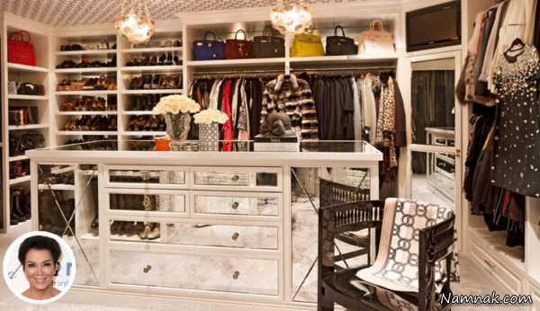 اتاق و کمد لباس