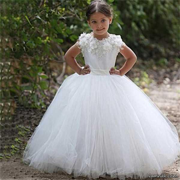 لباس عروس بچه گانه ترک