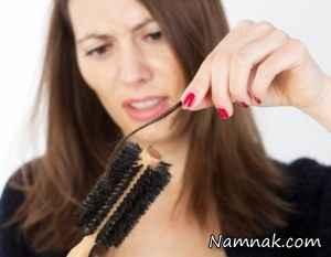 درمان ریزش و خشکی مو