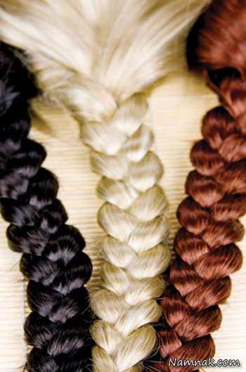زیباترین رنگ مو