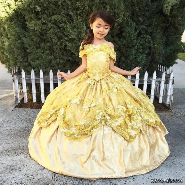 نقاشی لباس عروسی دخترانه