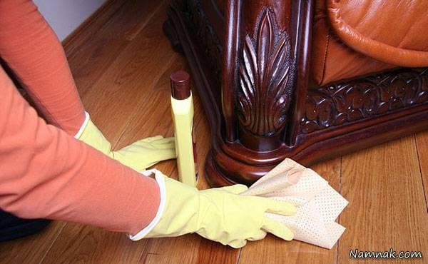 نکات مراقبت از وسایل چوبی در منزل