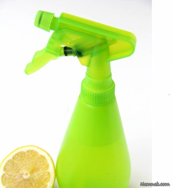 شیشه پاک کن لیمویی