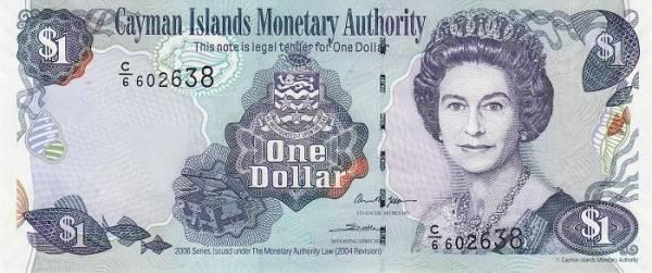 دلار کایمن