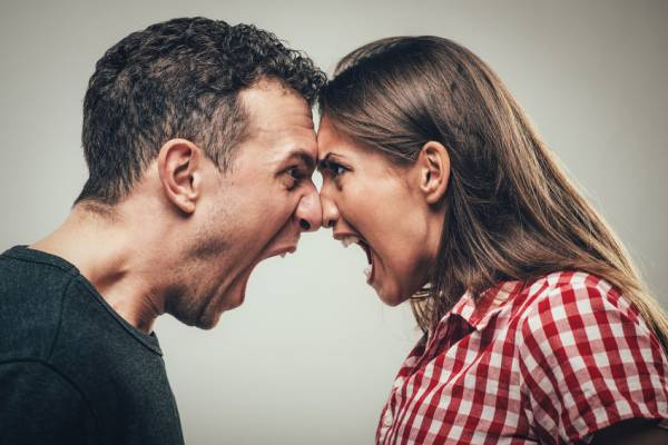 مقابله با عصبانیت همسر